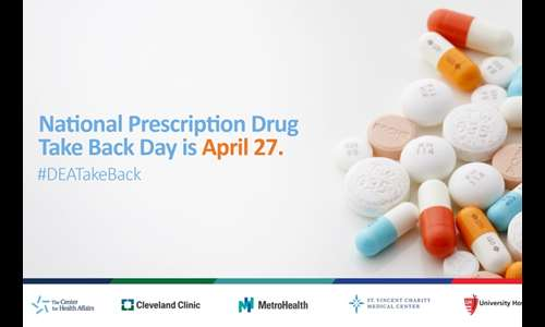 National Prescription Drug Take Back Day is Saturday, April 27
