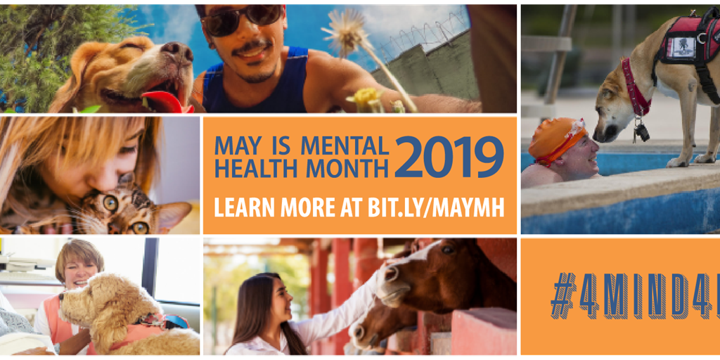 May is Mental Health Month - Focus on #4Mind4Body for Balanced Mental Health