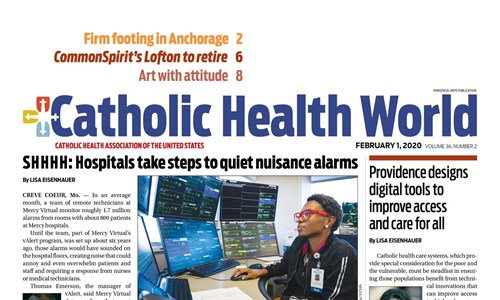 St. Vincent featured in Catholic Health World cover story