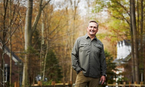 Former College Football Player and Avid Outdoorsman Returns to Doing What He Loves with Relief from Back Pain